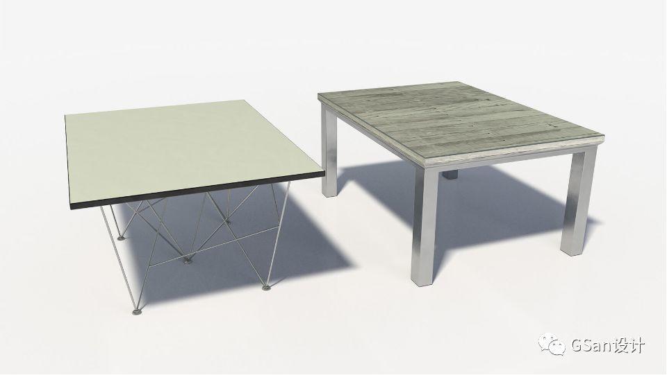 椅子和桌子【模型】