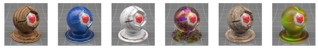 150组4K高清无缝C4D Redshift逼真渲染纹理材质合集