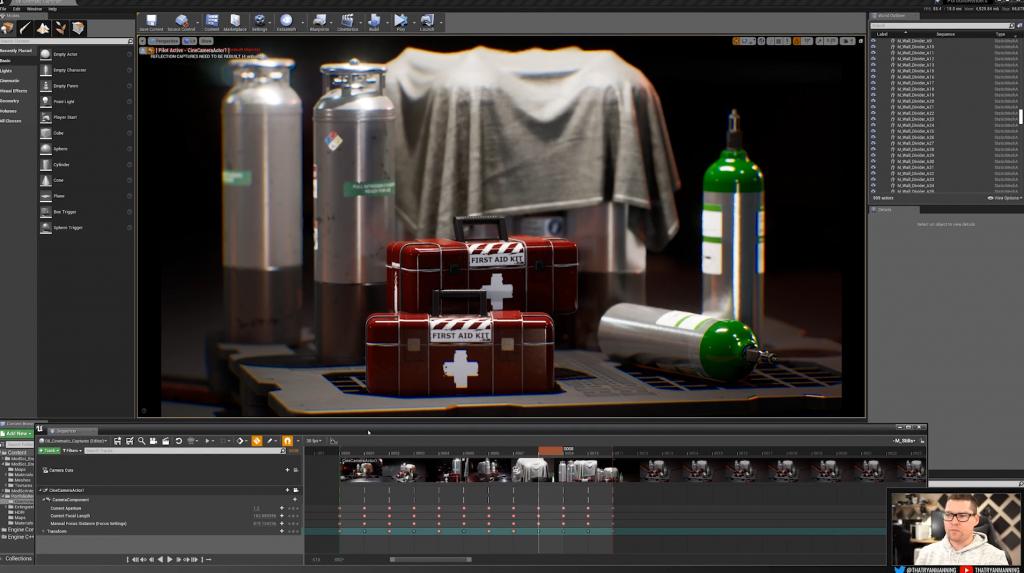 UE4影视级场景制作工作流程视频教程 RRCG【教程】