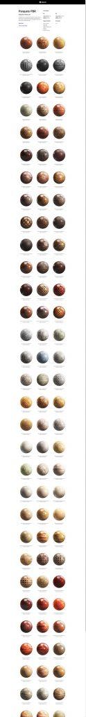 100组8K4K高清木质地板PBR无缝纹理贴图合集 CGAxis第20季【木地板贴图】【贴图】