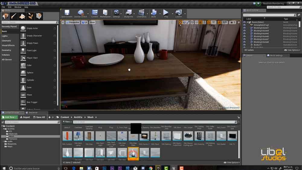 虚幻引擎信息【Infoarquitectura con Unreal Engine】【教程】