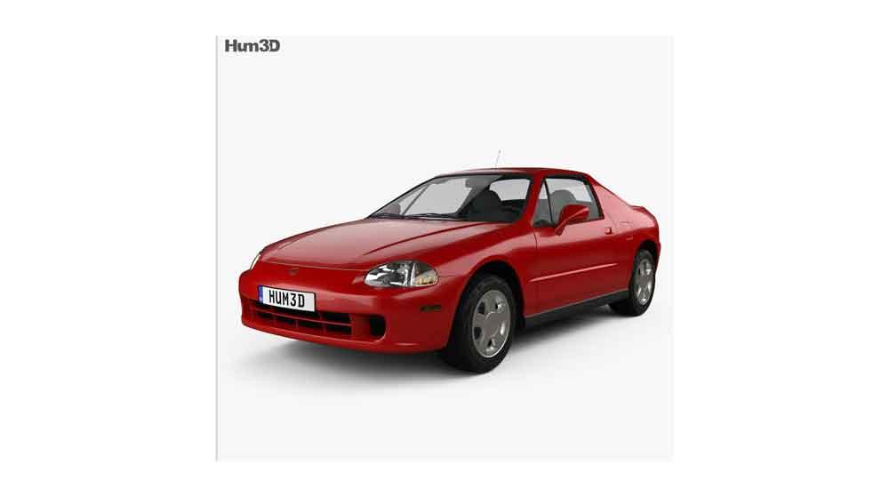 本田思域模型【Honda_Civic_del_Sol_1993】