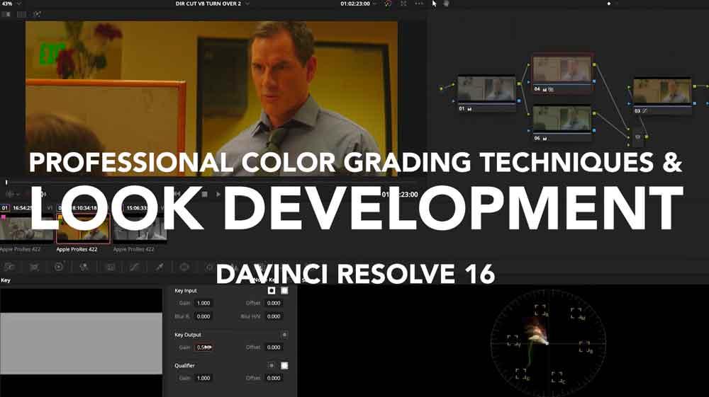 达芬奇调色教程【Lowepost - Professional Color Grading Techniques In Davinci Resolve】【免费】